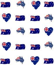 Australian Flag Waterslide Nail Decals/ Nail Art