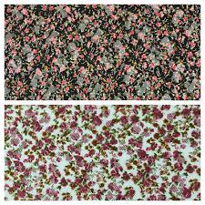 "Vintage Ditsy Floral raschel stretch lace dress net fabric 55"" Wide M645 Mtex"