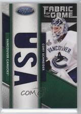 2011-12 Panini Certified #142 Cory Schneider Vancouver Canucks Hockey Card