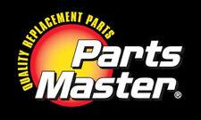 Disc Brake Rotor Rear Parts Master 125475