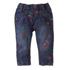 fille jeans impression florales rembourré gr. 74 80 86 92 von Boboli