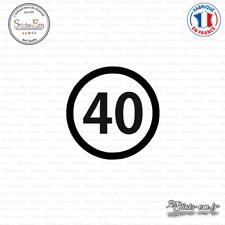 Sticker Département 40 Landes Mont-de-Marsan Aquitaine Dax Decal Aufkleber