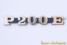 Vespa emblema bordado páginas capó-p200e/p 200 e-negro-px lusso Alt