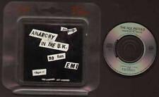"""MINI CD 3"""" SEX PISTOLS ANARCHY IN THE UK / NO FUN / EMI VIRGIN MADE IN AUSTRIA"""