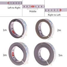 Mètre à ruban pour voie de scie onglet Auto-adhésif Règle métrique Acier 1/2/5M