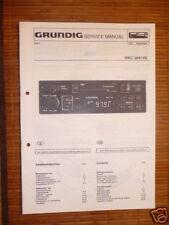 Service Manual Grundig WKC 2641   Autoradio,ORIGINAL