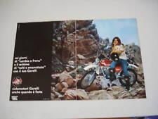 advertising Pubblicità 1977 MOTO GARELLI KL 50 E 5V