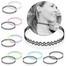 Halskette Henna Tattoo-Kette Schmuck-Sets Boho Choker Halsband Elastisch Stretch