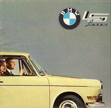 BMW 700 LS Luxus Saloon 1962 UK Market Sales Brochure