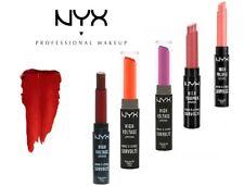 NYX High Voltage Lipsticks Vibrant Color Super-Rich Finish-2.5g-Choose Shade !