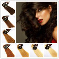 Echthaar Tresse RAMO Premium REMY 100%  Haarverlängerung Hair Extensions