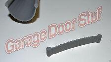 Garage Door Weather Seal - Bottom Seal Bead Type - Grey Vinyl - NEW