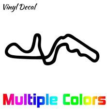 Suzuka Circuit Decal | Race Track Decals Outline Sticker Helmet Car