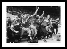 Manchester United 1985 FA Cup Final Goal Celebrations Photo Memorabilia (181)