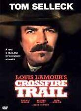 Crossfire Trail - TOM SELLECK, Virginia Madsen, Mark Harmon (DVD, 2001) NR WS