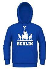 Kapuzensweat Hoodie Ultras Berlin Tor Trikot Kapuzenpullover für Hertha Fans