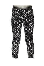 Mim-Pi Kleid Legging FLOWERS schwarz weiß NEU  116 122 128 134 140 146 152