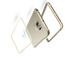 Aluminium Bumper + Klares Backcover für SAMSUNG Galaxy S6 Case Metall Hülle Alu