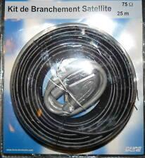 KIT DE BRANCHEMENT SATELLITE  COMPLET NEUF