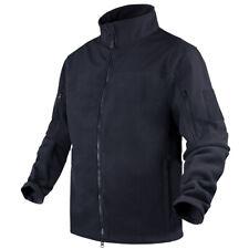 Condor Bravo Fleece Jacket Mens Tactical Hunting Security Warm Sweater Navy Blue