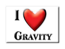 SOUVENIR USA - IOWA GIFT FRIDGE MAGNET AMERICA I LOVE GRAVITY (TAYLOR COUNTY)