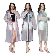 Portable Femmes Raincoat Imperméable Pluie Poncho Outdoor Sports Hiking Rainwear