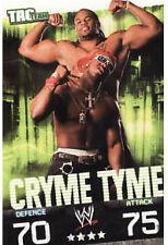WWE Slam Attax Evolution Cryme Tyme Tag Team Card