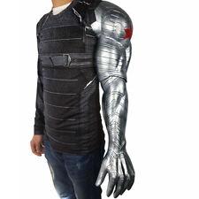Winter Soldier Bucky Barnes Armor Arm Cosplay Civil War Halloween Armor Props