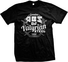 Genuine Abs of Valyrian Steel GOT Funny Humor Joke Sexy Meme Mens T-shirt