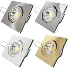 1 x LED Deckenstrahler Dario / 5W / 220Volt / Gu10 Fassung / EEK A+ / IP20 Lampe