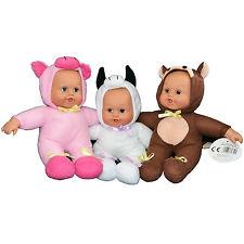 Lindo Baby Doll En Animal Traje Disfraz De Cerdito Vaca 24cm adorable Jugar Juguete Dolly