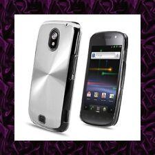 Coque Samsung GALAXY NEXUS i9250 ★★★ EFFET ALUMINIUM ARGENT Spiral ★★★