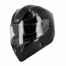 Casque Intégral Double Ecran S-Line S441 Helmet Adulte  Noir Brillant