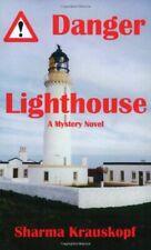 1 of 1 - NEW Danger Lighthouse by Sharma J. Krauskopf