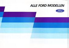 1987 Ford Orion Sierra Scorpio Dutch Sales Brochure