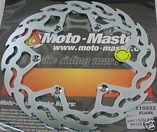Moto Master Suzuki RMZ RM-Z 250 RMZ RM-Z 450 Flame Rear Brake Disc
