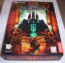 IL TEMPIO DEL MALE ELEMENTALE gioco pc originale completo gdr dungeons dragons