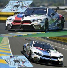 Decals BMW M8 GTE Le Mans 2019 81 82 1:32 1:24 1:43 1:18 slot calcas