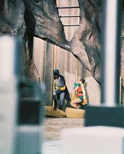 BATMAN ADAM WEST BURT WARD BAT CAVE TV RARE PHOTO OR POSTER