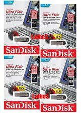 SanDisk Ultra Flair 16GB 32GB 64GB 128GB USB3.0 lot CZ73 USB Flash Drive 150MB/s
