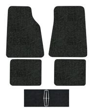1990-2011 Lincoln Town Car Floor Mats - 4pc - Cutpile