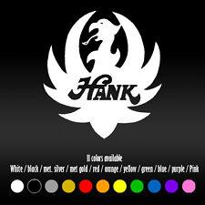 "5"" Hank Williams Jr Bocephus Country Music Window Car Diecut Vinyl Decal sticker"