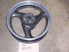 94 suzuki rf600 rf 600 rear wheel rim  no tire
