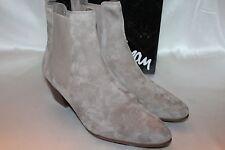 NEW! NIB SAM EDELMAN Tan Putty Nubuck Suede REESA Elastic Ankle Boots Sz 11 $149