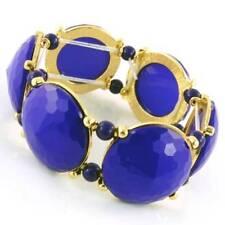 Gold Plated Stretch Fashion Bracelet Large 30mm Acrylic Bubble Beads