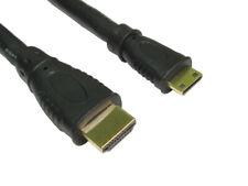HDMI Cable Type A to MINI C v1.4 FULL HD TV 3D 4K Lead + Ethernet Channel AV UK