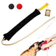 Dog Bite Tug & Training Whip for Large Dogs K9 Police Schutzhund Heavy Duty Long