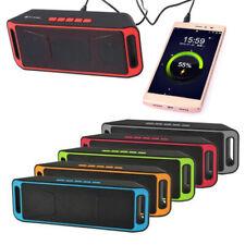 Altoparlante Bluetooth Radio FM ABS + rete di ferro + pad in silicone Bass Sound
