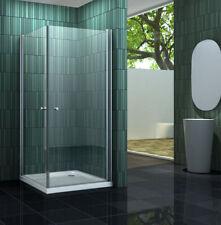 BANHO Glas Duschkabine Eckeinstieg Dusche Duschwand Duschabtrennung