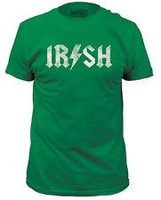 Irish Lightning Bolt Adult T-Shirt - St Patrick's Day, College Party Drinking